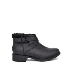 UGG New In Box W Benson Ankle Boot 1095151 Black